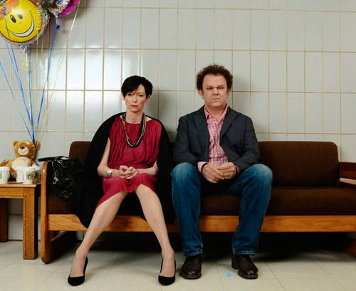 Tilda Swinton and John C. Reilly star in We Need to Talk About Kevin.