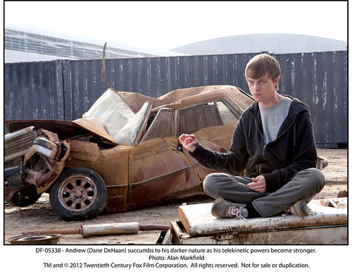 Dane DeHaan stars in Chronicle