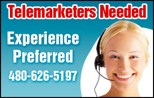 Telemarketers Needed