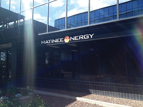Matinee Energy's prominent Tucson office
