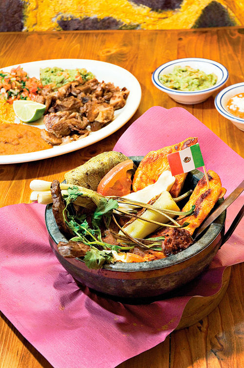 La Barquita's authentic Mexican dishes come from family recipes.