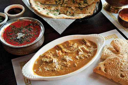 India Grill's cuisine leans toward the creamier, richer, and moderately spicy dishes of northern India.