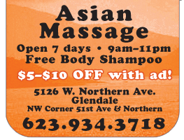 asian massage glendale