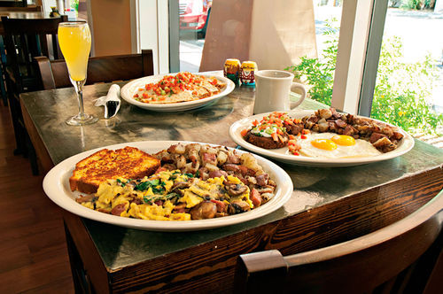 For breakfast fans, Dottie's serves up a.m. eats that won't have you pining for early lunch.