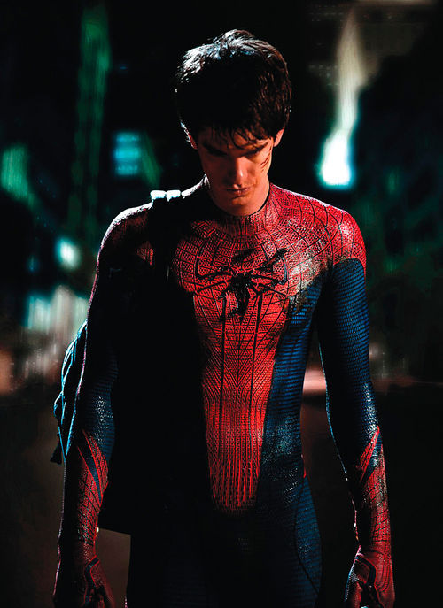 Andrew Garfield stars in The Amazing Spider-Man.