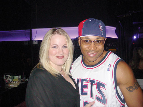 Jodi Upton and LL Cool J