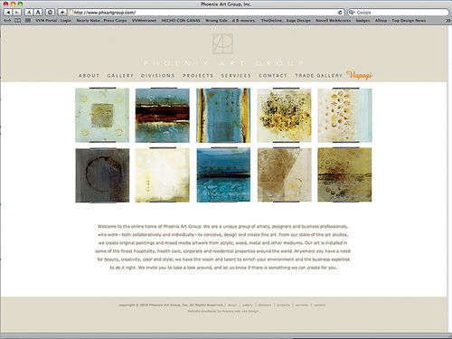 Images from the Phoenix Art Group website,  www.phxartgroup.com.
