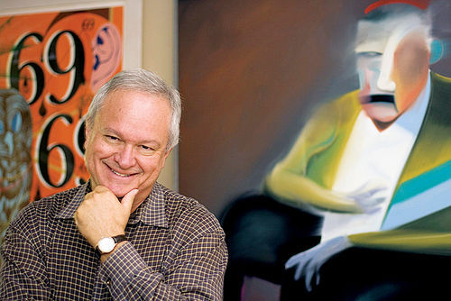 Independent curator and fine art consultant Ted Decker