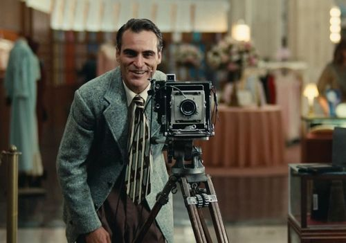 Joaquin Phoenix stars in The Master.
