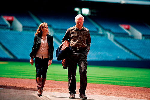 Amy Adams and Clint Eastwood star in Trouble with the Curve.