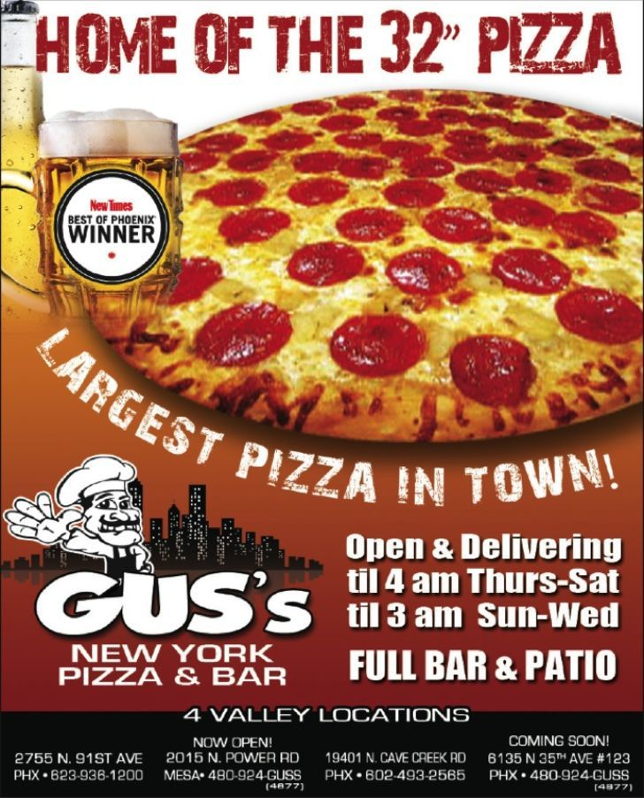 Gus New York Pizza