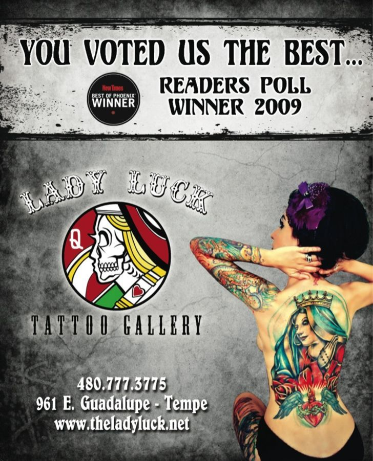 Lady Luck Tattoo Gallery