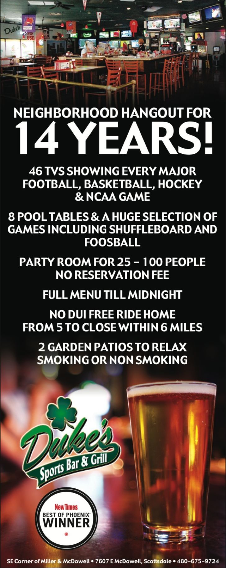 Dukes Sports Bar & Grill