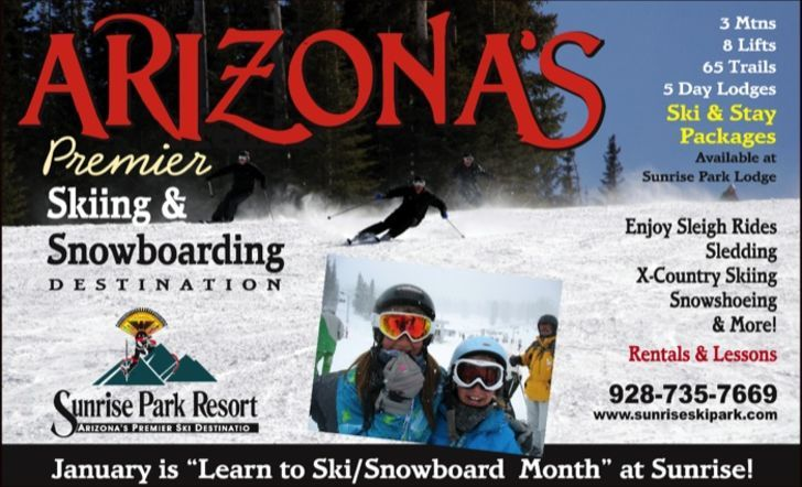 Arizona's Premier Skiing & Snowboarding 