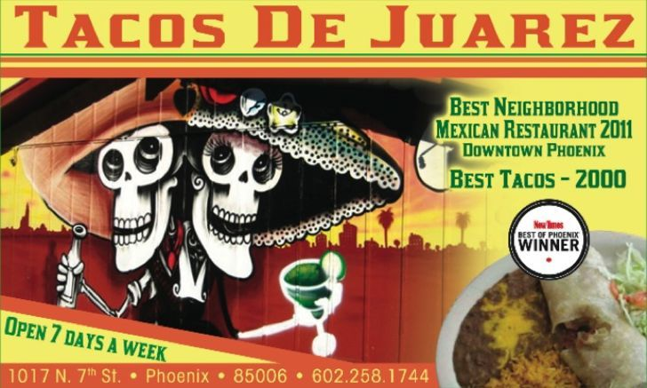 Tacos De Juarez