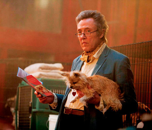 Christopher Walken stars in Seven Psychopaths