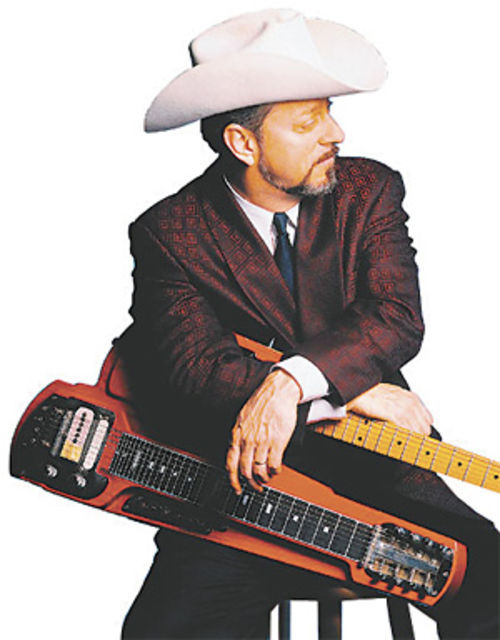 "Junior Brown: Inventor of the ""guit-steel."""