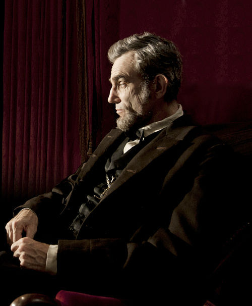 Daniel Day-Lewis stars as Honest Abe in Lincoln.