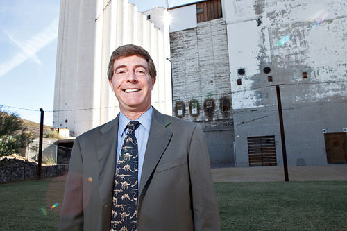 Former Tempe Mayor Hugh Hallman thinks Bill Tonnesen is his own worst enemy.