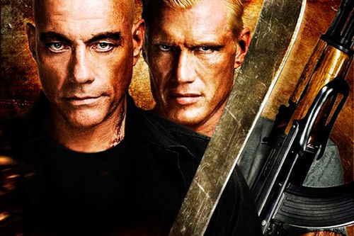 Jean-Claude Van Damme and Dolph Lundgren in Universal Soldier: Day of Reckoning