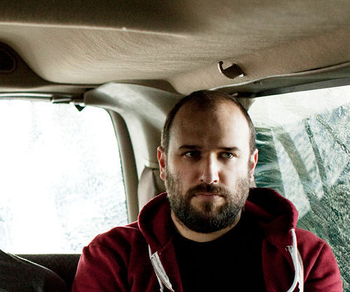 David Bazan takes a rare turn in the backseat.