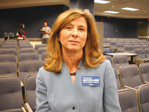 Democrat Felecia Rotellini lost to Horne in the 2010 general election for Arizona attorney general, but thanks to Horne's paranoia, she now has enough political ammo to decimate Horne, should they both end up on the ballot for AG in 2014.