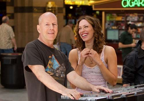 Bruce Willis and Rebecca Hall star in Lay the Favorite