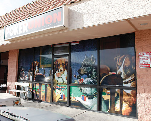 The Poker Union, at Union Hills and Seventh Avenue in Phoenix, offers tournaments and cash games nightly.