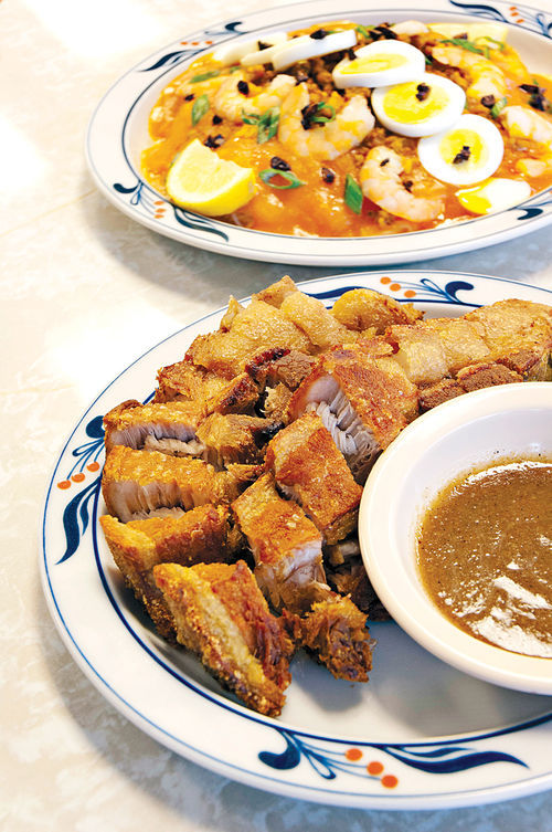 With an abundance of pork, rice, and dishes spiked with vinegar, garlic, and soy sauce, there's more to Filipino food than the bizarre.