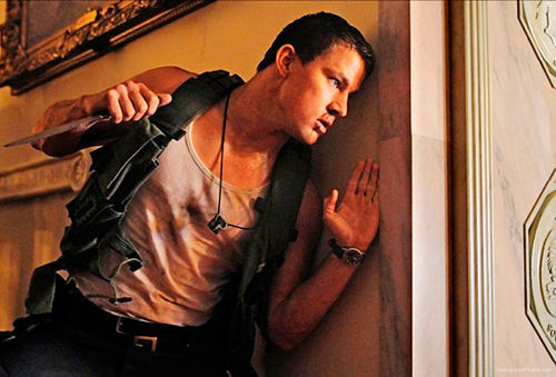 Channing Tatum stars in Side Effects.