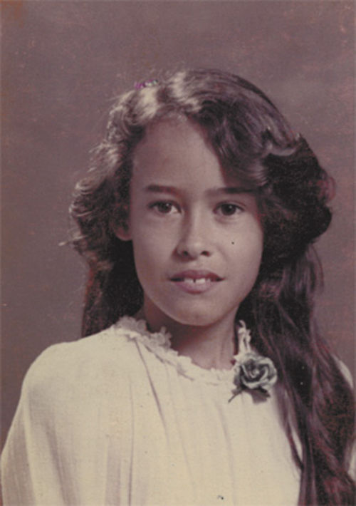 Mistress Seven, when she was Amber Landin, age 9.