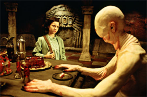 Pan�s Labyrinth: Parents, tuck the kids in first.