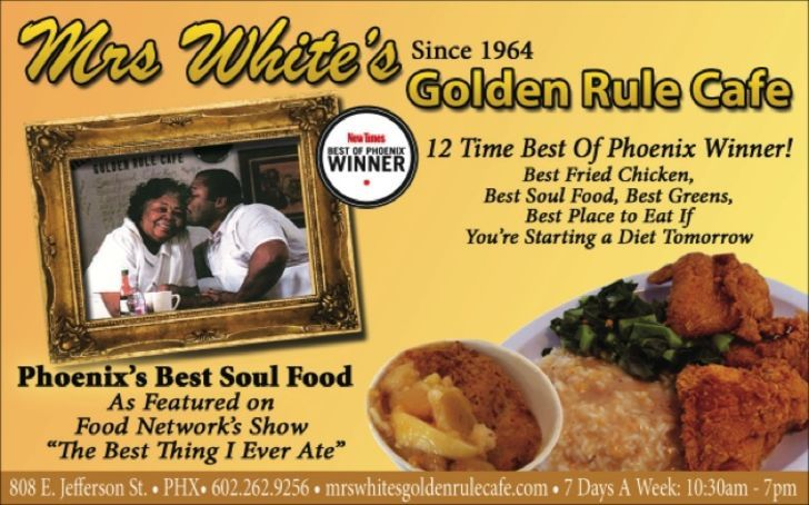 Mrs. Whites Golden Rule Cafe