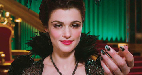 Rachel Weisz stars in Oz the Great and Powerful.