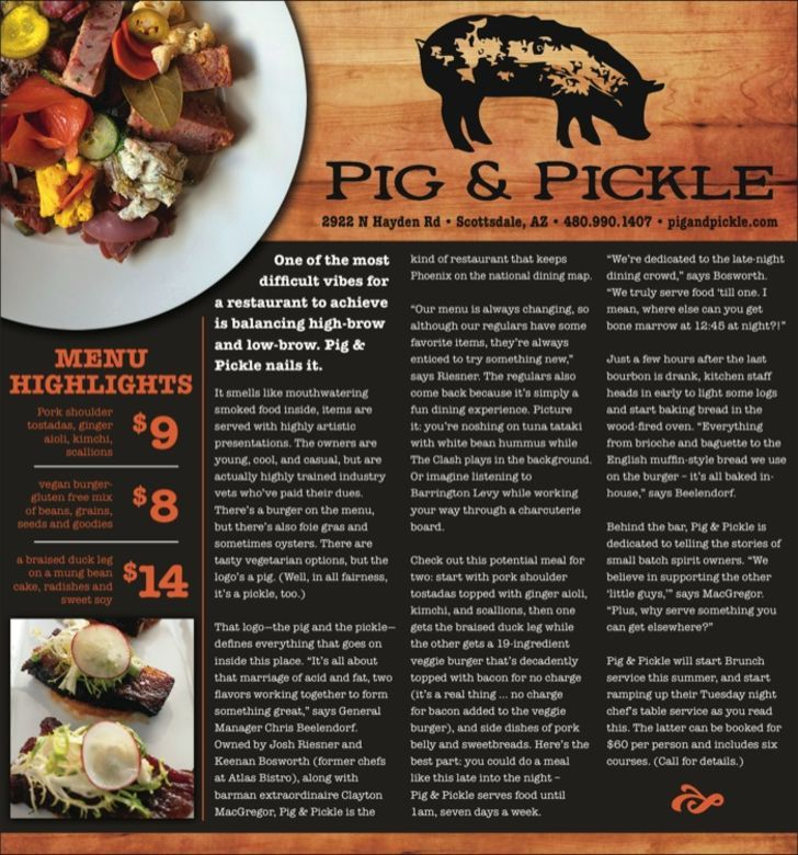 Pig and Pickle