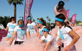 Thumbnail for Colors and Bubbles Galore at the Phoenix Bubble Run