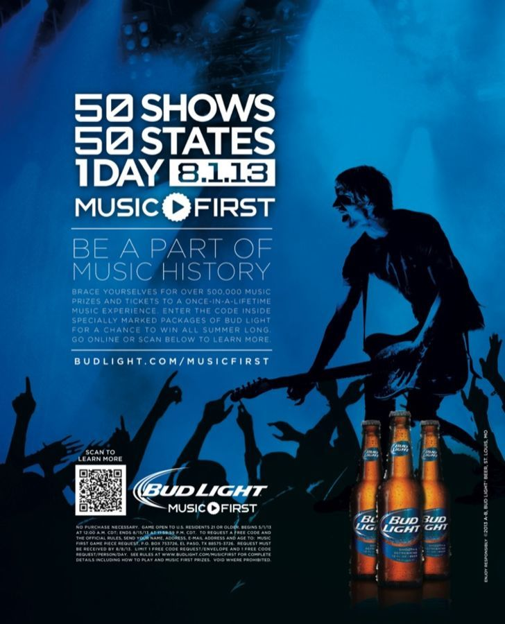 Bud Light Music First