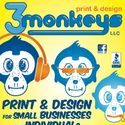 3Monkeys Print &amp; Design