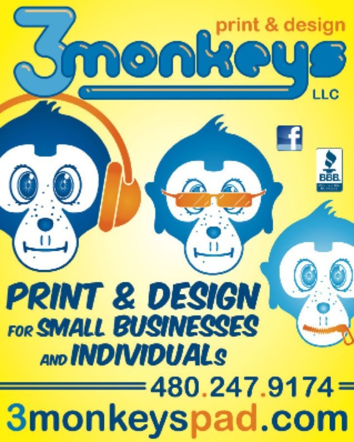 3Monkeys Print & Design