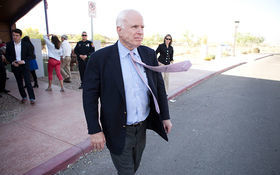 Thumbnail for The McCain Show: Arizona Senator John McCain Hits the Road
