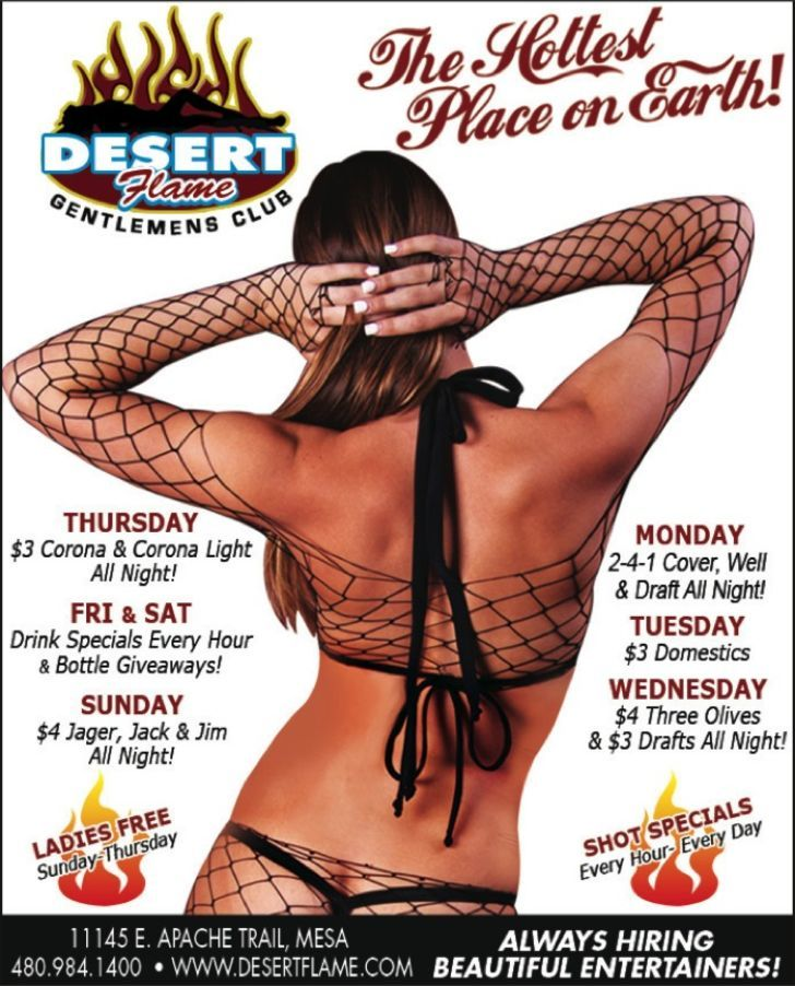Desert Flame Gentlemen's Club
