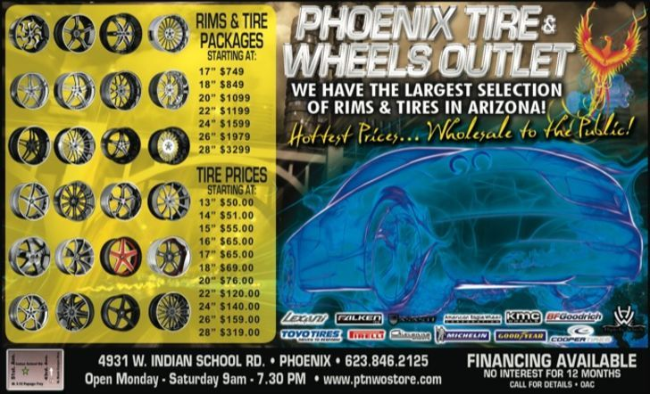 Phoenix Tires & Wheels Outlet