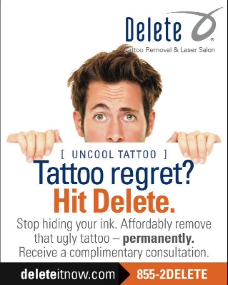 Delete Tattoo & Laser Salon