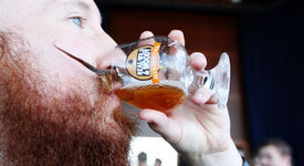 The Beards of Real, Wild and Woody Craft Beer Festival