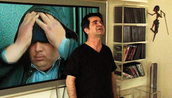 Jafar Panahi in This Is Not a Film