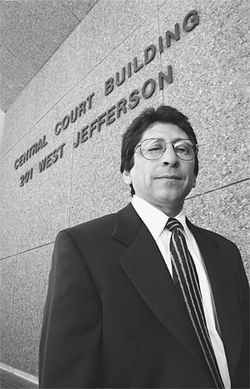 Veteran county prosecutor Juan Martinez