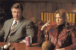 All in the family: Alec Baldwin and Annette Bening are parents who give up their son to be adopted by their psychiatrist in Running With Scissors.