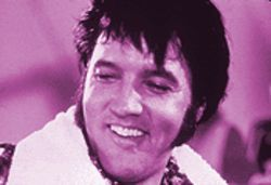 King at the crossroads: Presley in a scene from the newly reconstructed Elvis: That's the Way It Is.