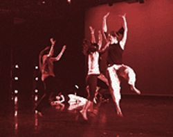 Jumping for joy is what dance is all about at Herrera
