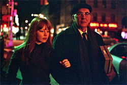 Unlived lives: Lauren Ambrose and Frank Langella complicate the May-December romance in Starting Out in the Evening.